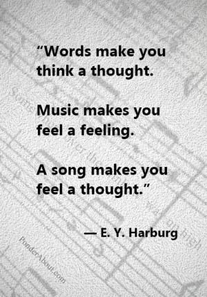music #quotes: Journey Band Quotes, Harburg Quotes, Music Quotes ...