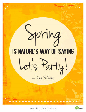 Happy Spring Day Quotes
