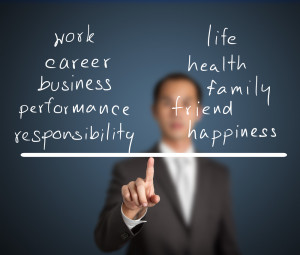 """Point being: Sometimes """"work"""" is a lot less work than """"life."""""""