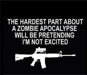 The Hardest Part about a Zombie Apocalypse