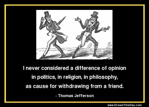 Quotes About Differences of Opinions