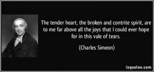 Quotes Broken Spirit Contrite Heart