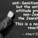 Einstein's famous quote, which most have never heard of. Now you know ...