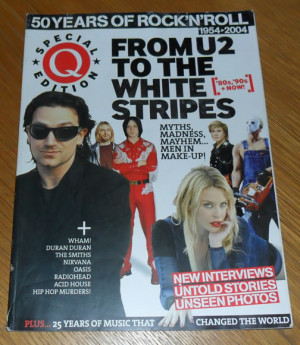 Magazine 50 Years of Rock n Roll Special Issue, dated 2004.
