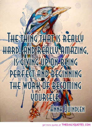 Sayings About Being Perfect...