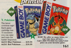 Pokemon Red amp Blue for Game Boy 39 99 each