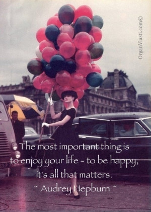 ... , important, life, love, matter, quote, quotes, red, sabrina, tiffany