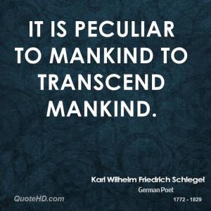 Karl Wilhelm Friedrich Schlegel Quotes
