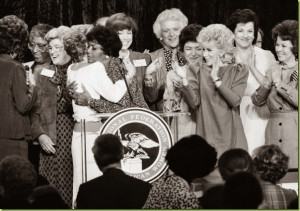 with Nancy Reagan (!) who is hugging Pearl Baily (!). That's future ...