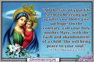 catholic sayings