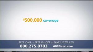 AIG Direct TV Spot, 'Quotes' - Screenshot 2