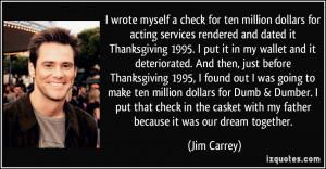 More Jim Carrey Quotes