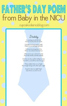 NICU - Print off the poem and bring it to the NICU to have the nurses ...