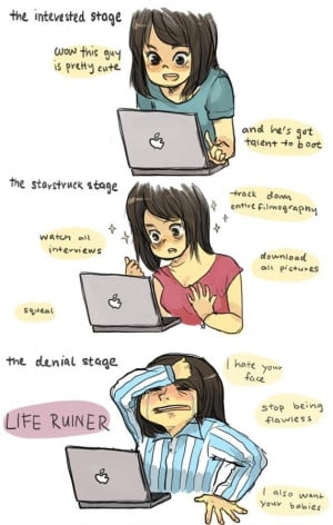 Stages Of Fangirl
