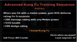 Advanced Kung Fu Training Sequence artifact