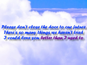... Be Where You Are - Michael Jackson Song Lyric Quote in Text Image