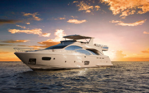 Azimut 95 Luxury Yacht at the Miami International Boat Show 2012 ...