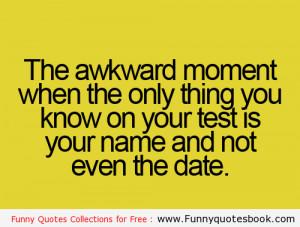 That Awkward Moment Funny Sayings