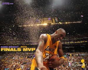Kobe Bryant MVP NBA Finals 2010 Wallpaper (Inspirational Basket Ball ...