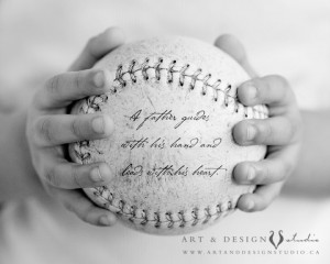 Father Son Baseball Quotes Father gift - personalized