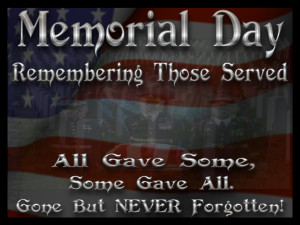 Best Memorial Day Quotes and Sayings