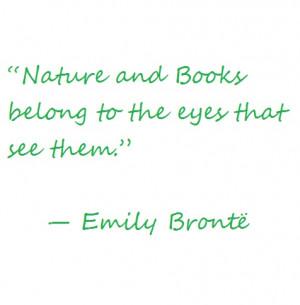 Emily Brontë #quote