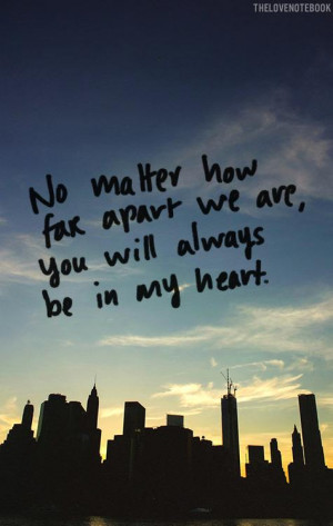 Long Distance Friendship Quotes & Sayings