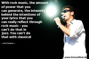 Rock Music Lyrics Quotes
