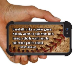 BruteBoxTM Case - Baseball - Jackie Robinson Quote
