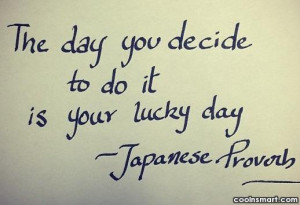 Luck Quotes And Sayings...