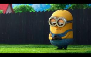 Sad minion.Thank God, Minions Mad, Movies T V, God I M, Bees Do Bees ...