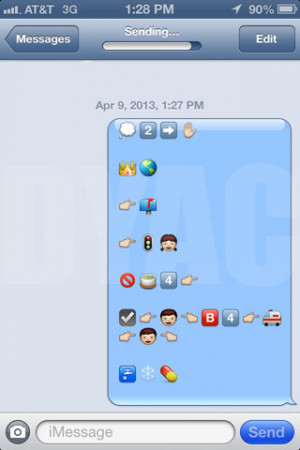 Funny Texts with Emojis