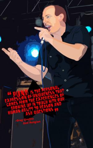 Greg Graffin - tha punk masta by ~Venty-Winduh on deviantART