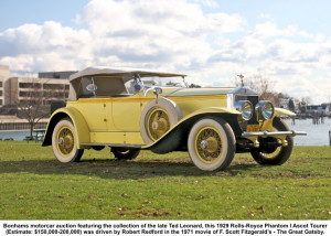 Gatsby drove a yellow Rolls Royce. The car is a symbol of wealth that ...