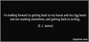 More E. L. James Quotes