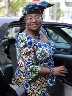 World Bank presidential nominee Ngozi Okonjo-Iweala of Nigeria leaves ...