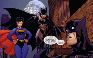 batman goddamn batman dc comics funny batgirl supergirl Wallpaper