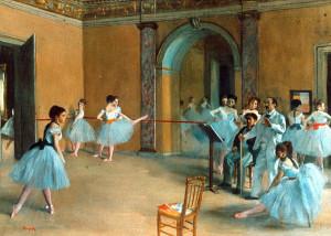 Degas dedicò gran parte della sua carriera alla rappresentazione ...