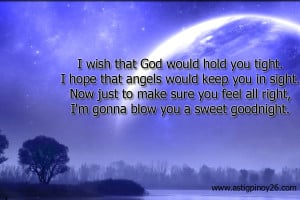 Wish that God Would Hold You Tight.I Hope that angels Would Keep You ...