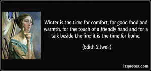 Quote Winter The Time For...