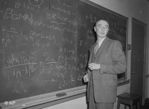 Robert Oppenheimer was the wartime director of the Manhattan Project ...
