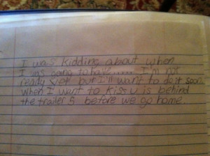Middle School Teacher Confiscates Incredible Student Notes (12 pics)