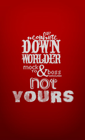 TMI quotes typography #6