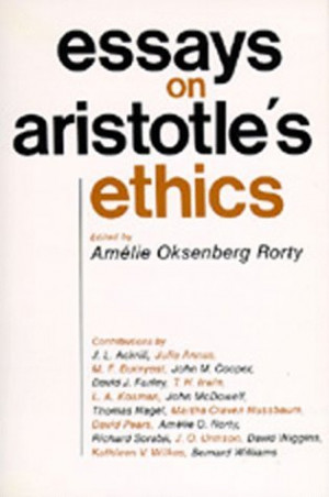 """Start by marking """"Essays on Aristotle's Ethics"""" as Want to Read:"""