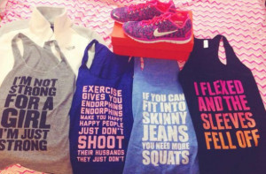 tank top cute workout active gym strong nike blue gray fitness shirt ...