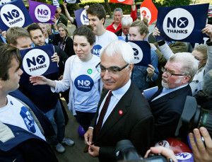 Alistair Darling 9 June 2014 The polls may conflict but message I take ...