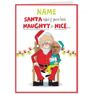 naughty christmas cards sayings