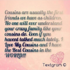 Funny Cousin Sayings Picture