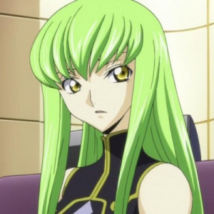 amber from darker than black c c from code geass