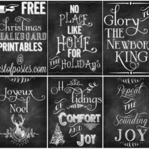 Love these chalkboard quotes